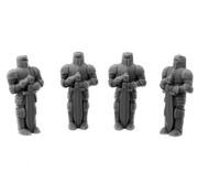 Mini Monsters Knights Statue - 4x - MM-0026