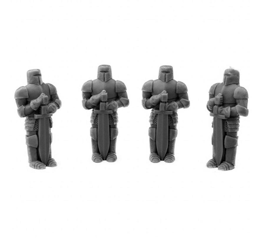 Knights Statue - 4x - MM-0026