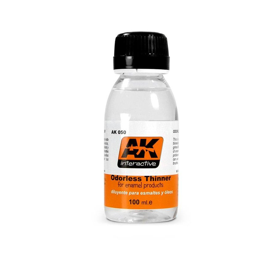 Odorless Thinner - 100ml - AK-050
