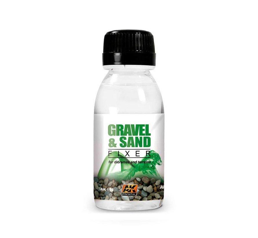 Gravel and Sand Fixer - 100ml - AK118