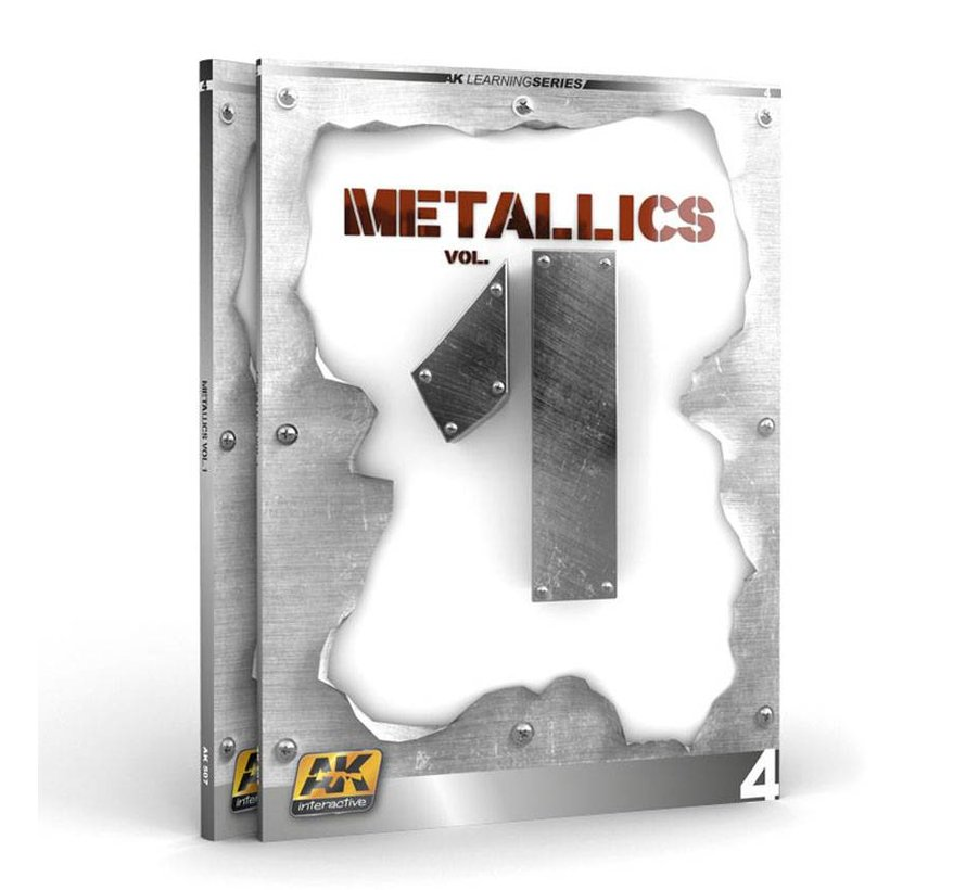 Metallics Vol 1 - AK Learning Series nr 4 - 86pag - AK-507