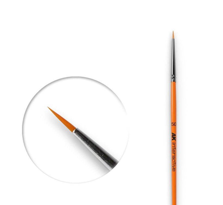 Round Brush 5/0 Synthetic - AK600
