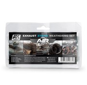 AK interactive Exhaust Stains Weathering Set - AIR series - 5x35ml - AK2037
