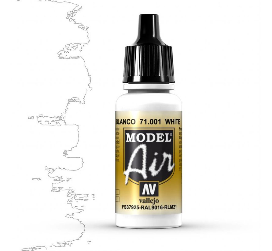 Model Air White - 17ml - 71001