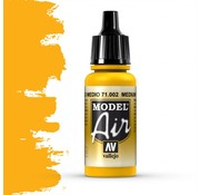 Vallejo Model Air Medium Yellow - 17ml - 71002