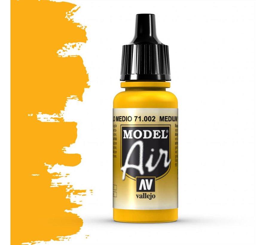 Model Air Medium Yellow - 17ml - 71002