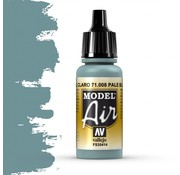 Vallejo Model Air Pale Blue - 17ml - 71008