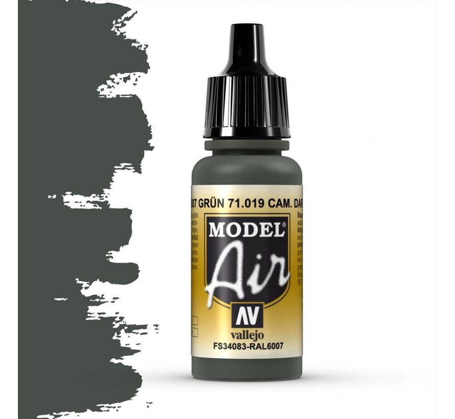 Model Air Cam. Dark Green - 17ml - 71019