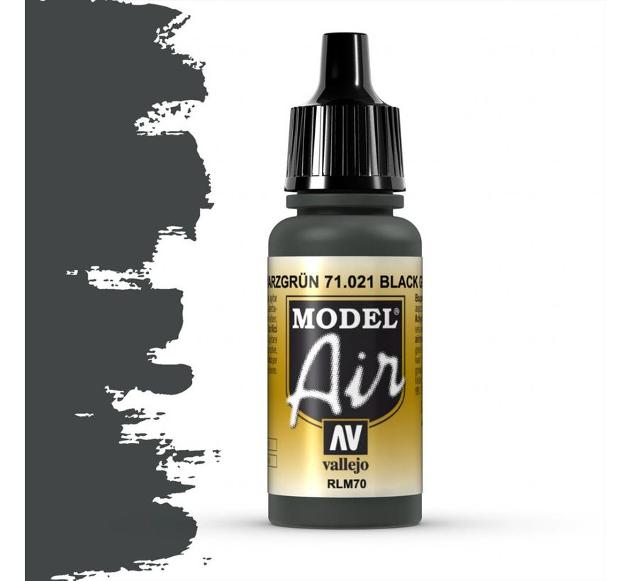 Model Air Black Green RLM70 - 17ml - 71021