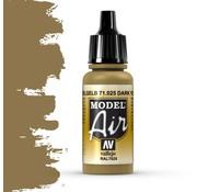 Vallejo Model Air Dark Yellow - 17ml - 71025