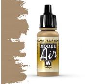 Vallejo Model Air Light Brown - 17ml - 71027