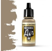 Vallejo Model Air Sand Yellow - 17ml - 71028