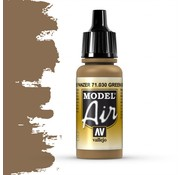 Vallejo Model Air Brown Green - 17ml - 71030