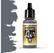 Vallejo Model Air Sea Grey - 17ml - 71049