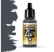 Vallejo Model Air Dark Grey Blue - 17ml - 71054