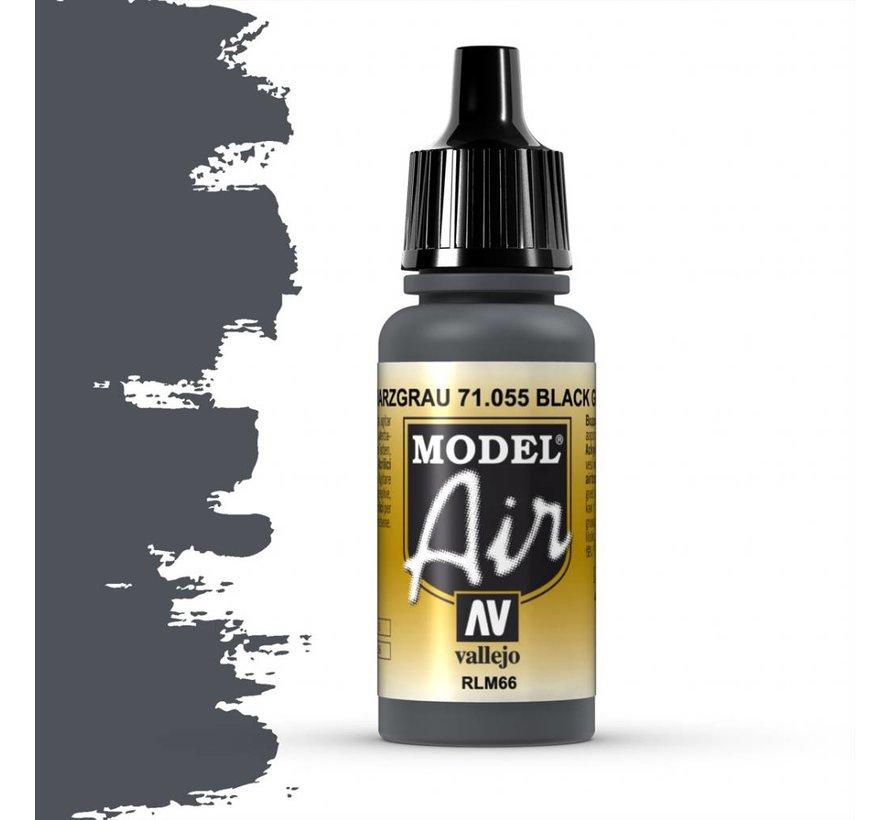 Model Air Black Grey RLM66 - 17ml - 71055