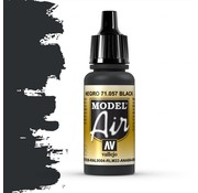 Vallejo Model Air Black - 17ml - 71057