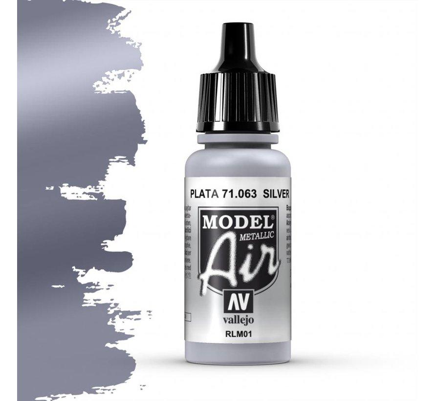 Model Air Silver - 17ml - 71063