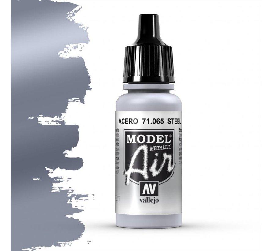 Model Air Metallic Steel - 17ml - 71065