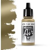 Vallejo Model Air Metallic Bright Brass - 17ml - 71067