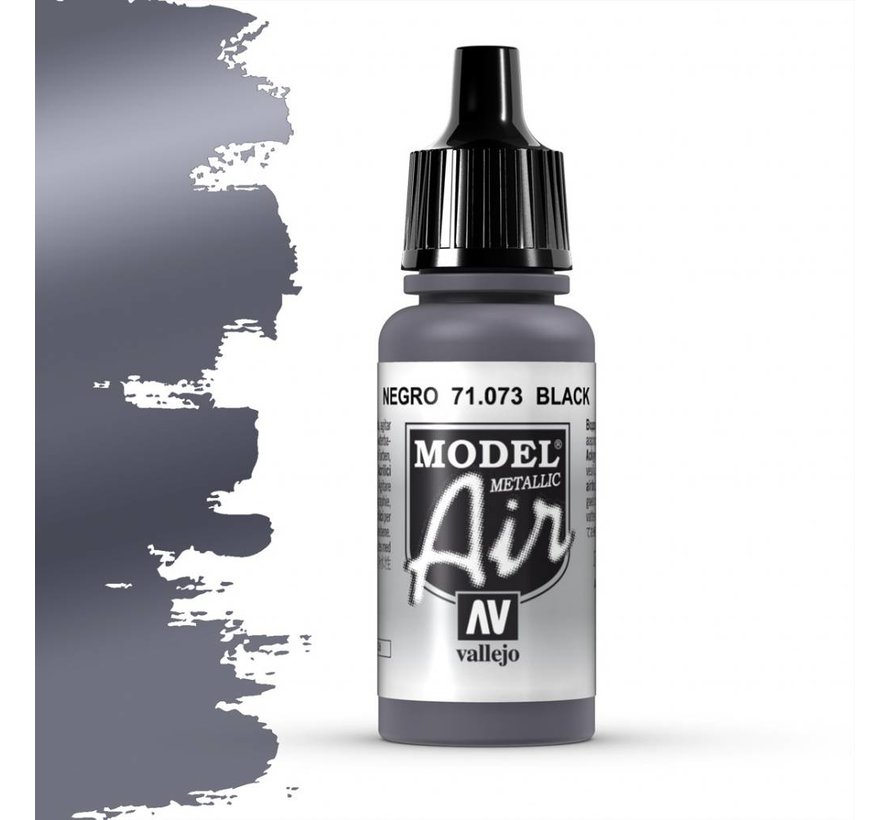 Model Air Black Metallic - 17ml - 71073