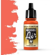 Vallejo Model Air Fluorescent Red - 17ml - 71082