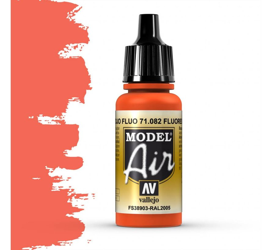 Model Air Fluorescent Red - 17ml - 71082