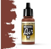 Vallejo Model Air Fire Red - 17ml - 71084