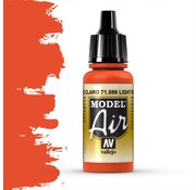 Vallejo Model Air Light Red - 17ml - 71086