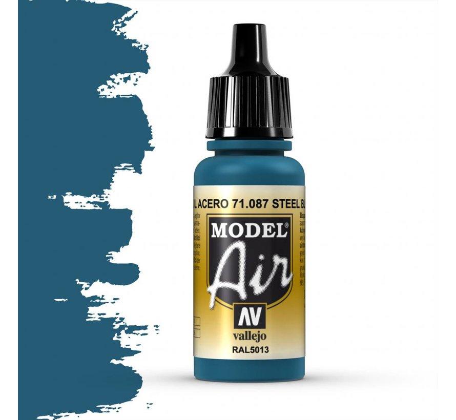 Model Air Steel Blue - 17ml - 71087