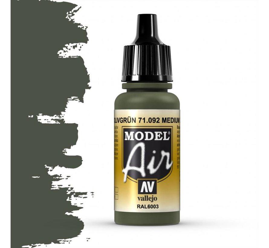 Model Air Medium Olive - 17ml - 71092