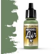 Vallejo Model Air Pale Green - 17ml - 71095