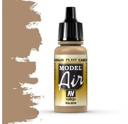 Vallejo Model Air Camouflage Brown - 17ml - 71117