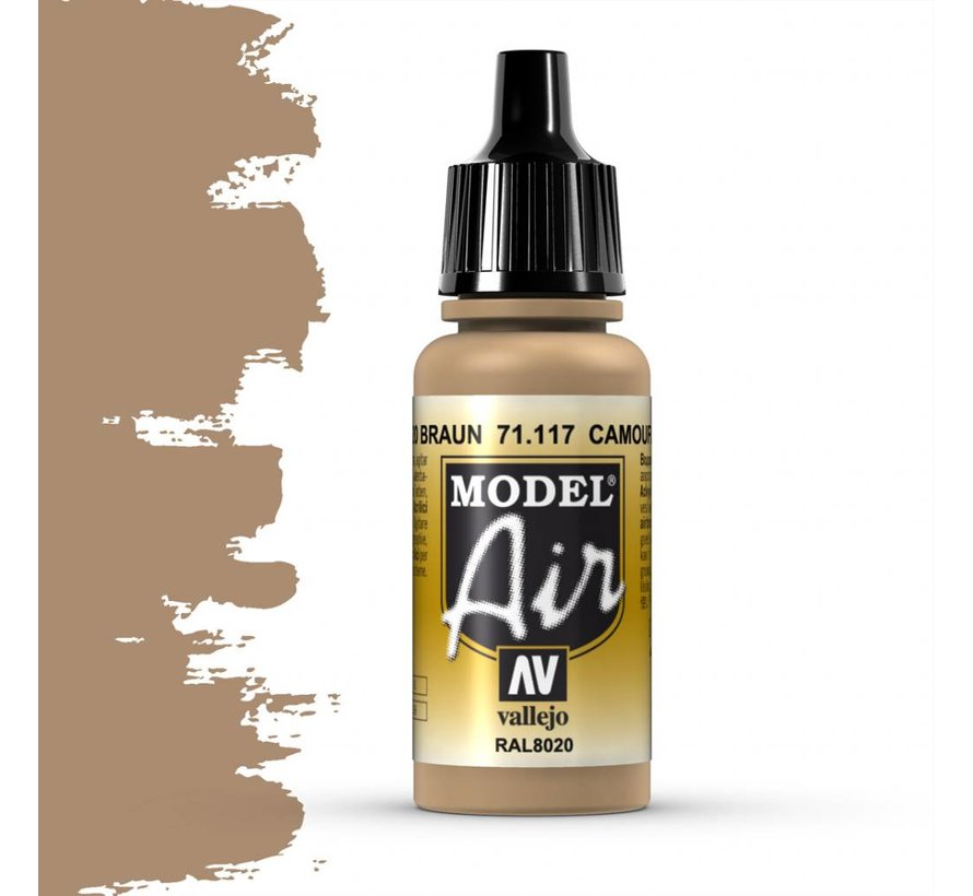 Model Air Camouflage Brown - 17ml - 71117