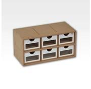 Hobbyzone Drawers Module x6 - OM01a