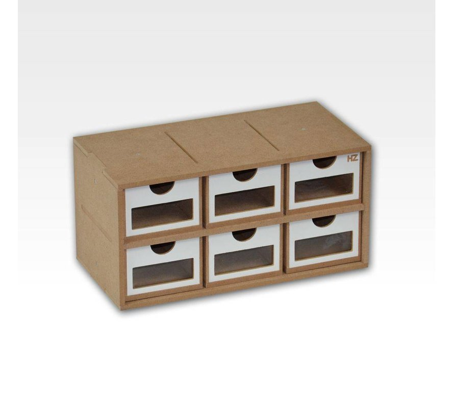 Drawers Module x6 - OM01a