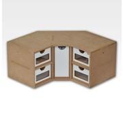 Hobbyzone Corner Drawers Module - OM03