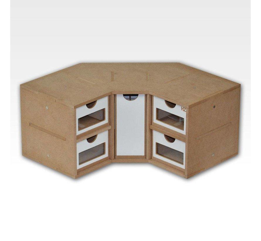Corner Drawers Module - OM03