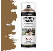 Vallejo Hobby Paint Fantasy Leather Brown spuitbus - 400ml - 28014