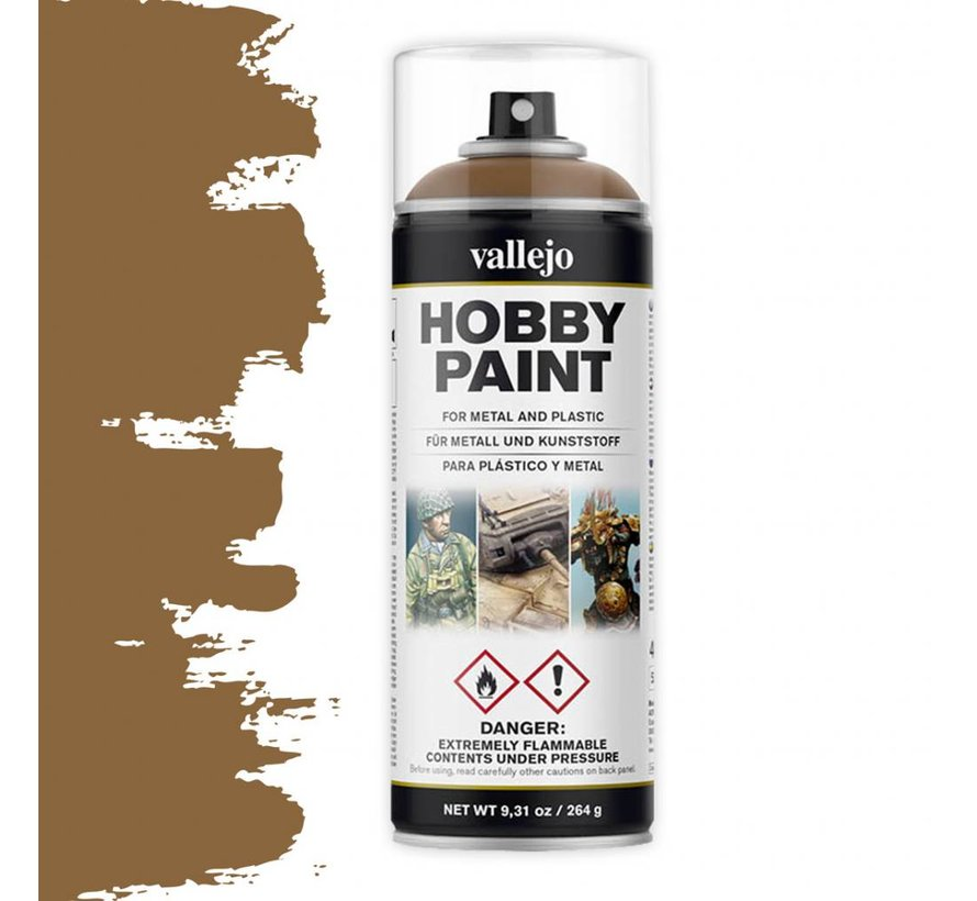 Hobby Paint Fantasy Leather Brown spuitbus - 400ml - 28014