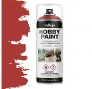 Vallejo Hobby Paint Fantasy Scarlet Red spuitbus - 400ml - 28016