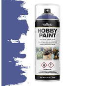 Vallejo Hobby Paint Fantasy Ultramarine Blue spuitbus - 400ml - 28017