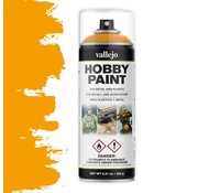Vallejo Hobby Paint Fantasy Sun Yellow spuitbus - 400ml - 28018