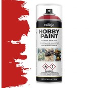 Vallejo Hobby Paint Fantasy Bloody Red spuitbus - 400ml - 28023