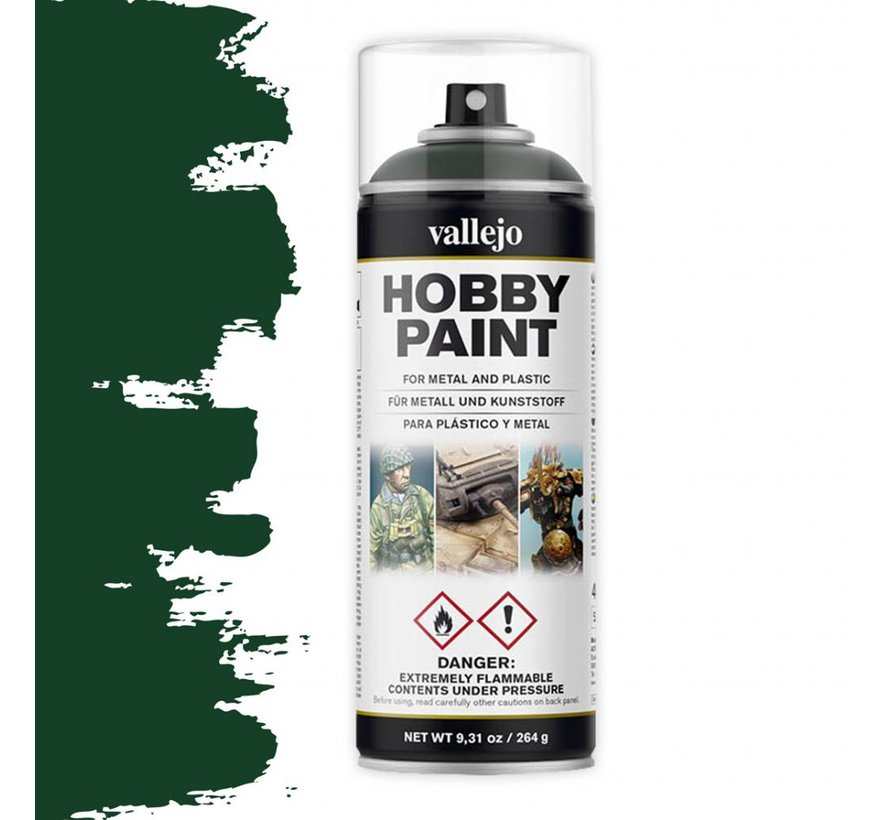 Hobby Paint Fantasy Dark Green spuitbus - 400ml - 28026