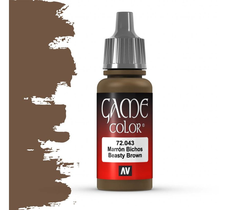 Game Color Beasty Brown - 17ml - 72043