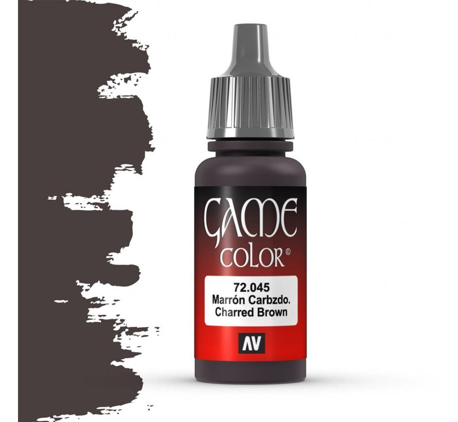 Game Color Charred Brown - 17ml - 72045