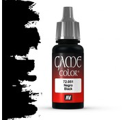 Vallejo Game Color Black - 17ml - 72051