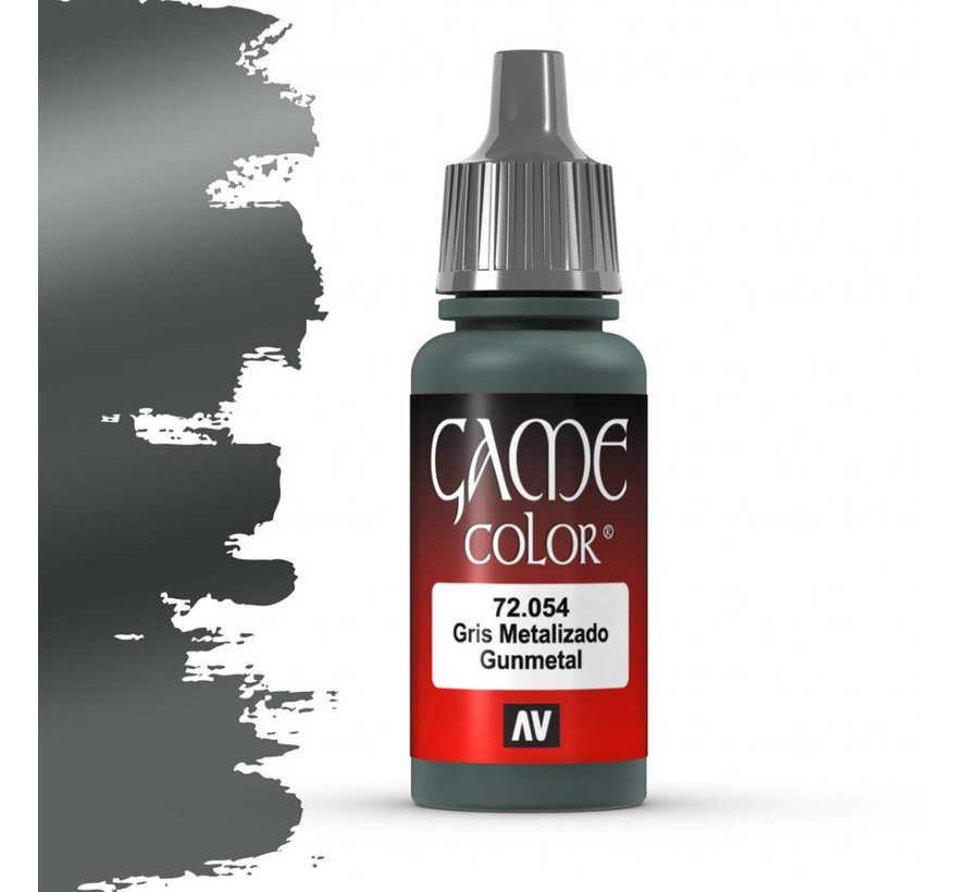 Game Color Gunmetal - 17ml - 72054