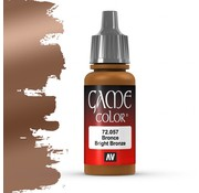 Vallejo Game Color Bright Bronze - 17ml - 72057